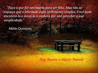 Poesias E Alguns Poemas Imagem Mensagem De Mario Quintana