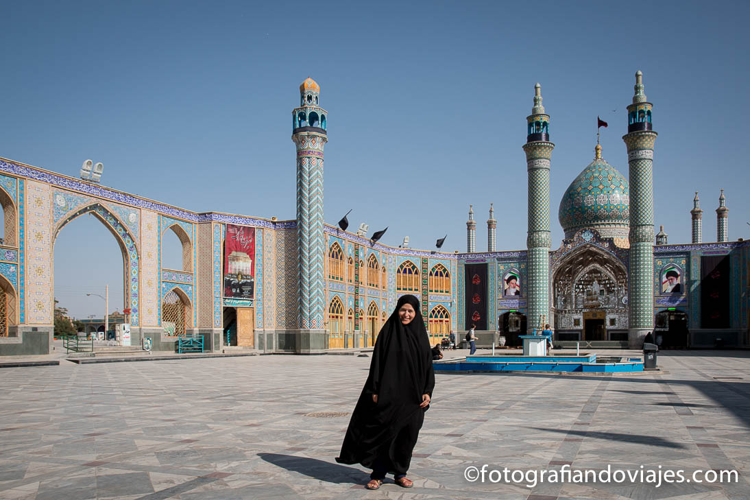 Mausoleo Aran Va Bidgol en Kashan, Irán