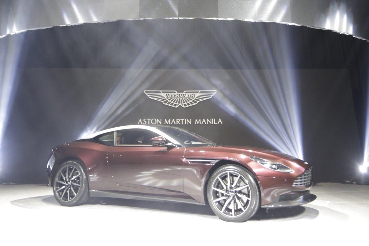 aston martin manila launches v8-powered db11 | philippine car news