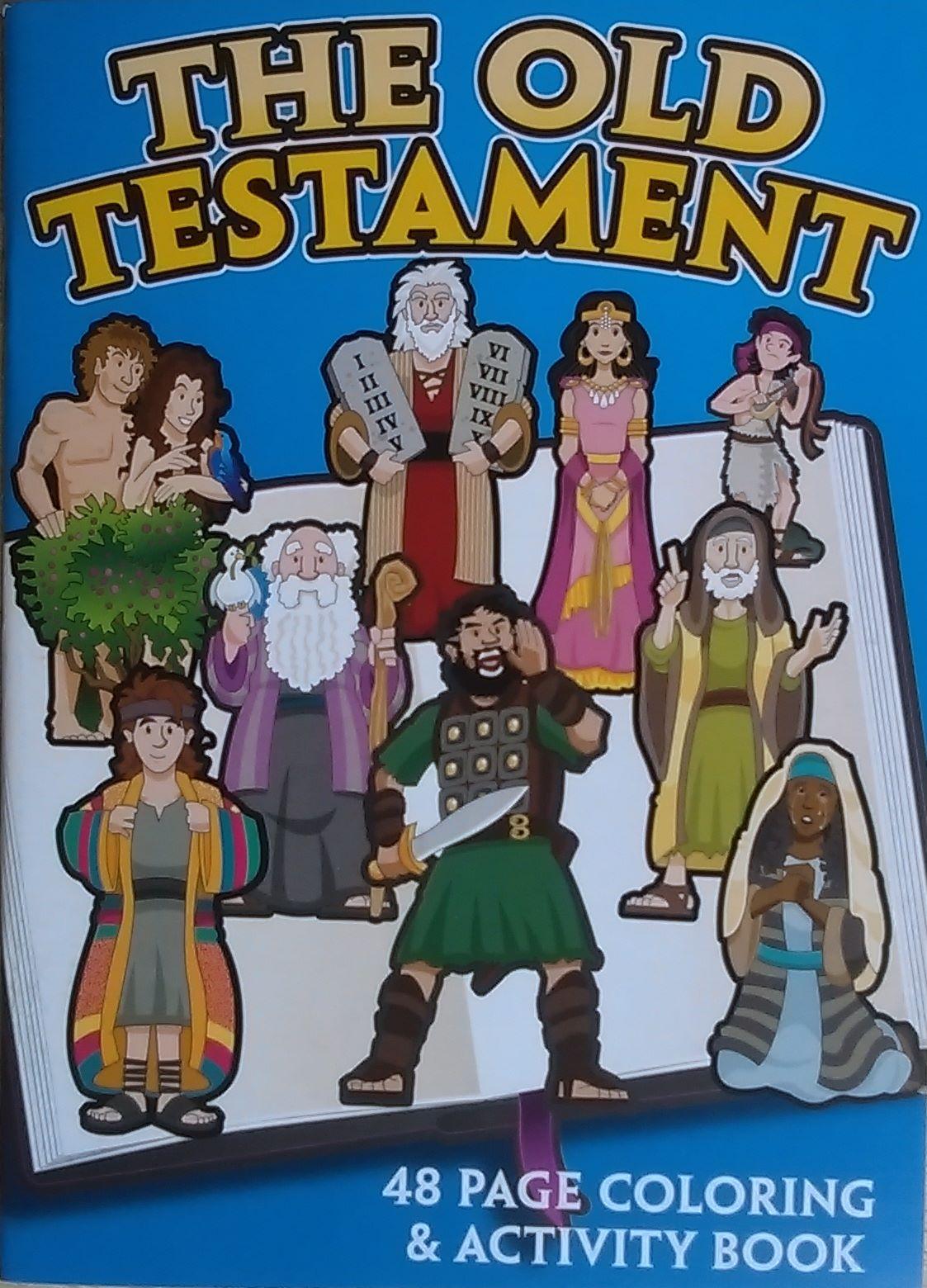 Petersham Bible Book Amp Tract Depot Old Testament Activity