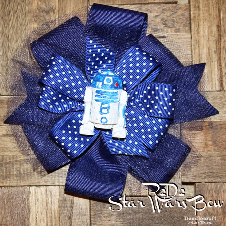 doodlecraft star wars r2d2 boutique bow happy may the 4th. Black Bedroom Furniture Sets. Home Design Ideas