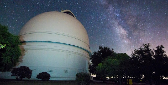 The CHIMERA instrument is located at the Hale Telescope at the Palomar Observatory near San Diego, California. Credits: Gregg Hallinan