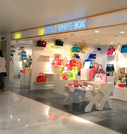 Little White Box - Save My Bag is now open in SM Makati!
