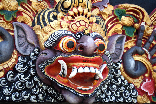 As result of the influence of cultures such as chinese dutch the balinese people havea natural human quality to use some of the elements from the