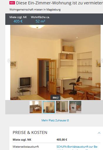 diese ein zimmer wohnung ist zu. Black Bedroom Furniture Sets. Home Design Ideas