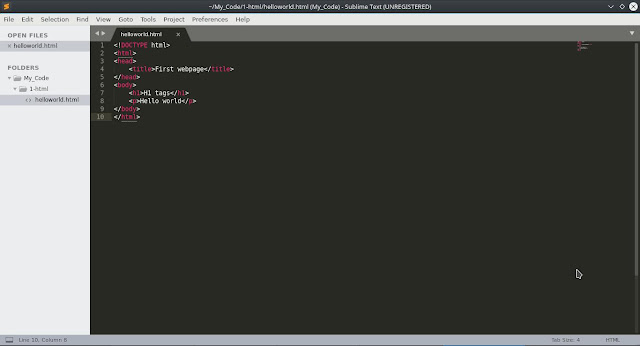 How to Install sublime text editor on Fedora with DNF