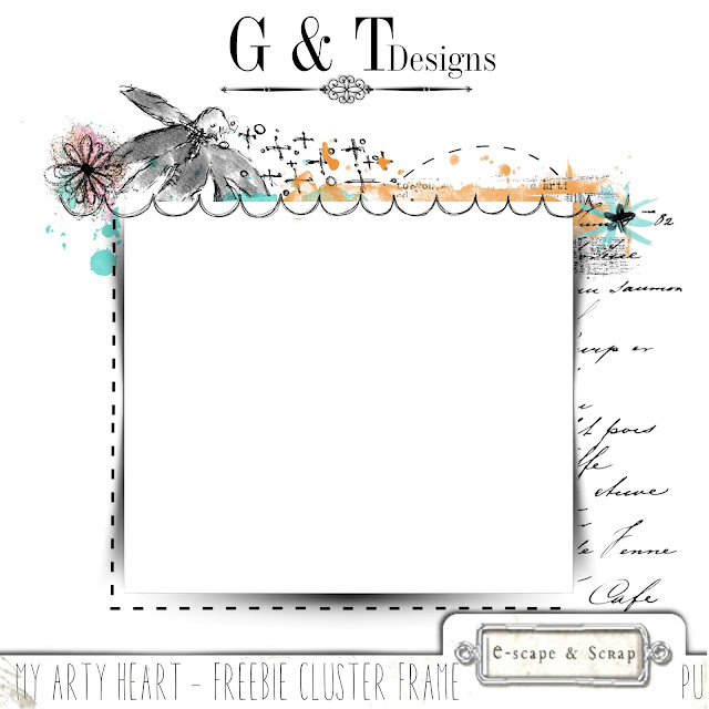 G&T Designs - My Arty Heart & Freebie
