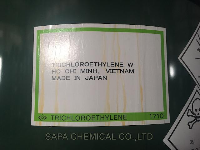 Trichloroethylene TCE, T.C.E, Dung môi hóa chất tẩy rửa