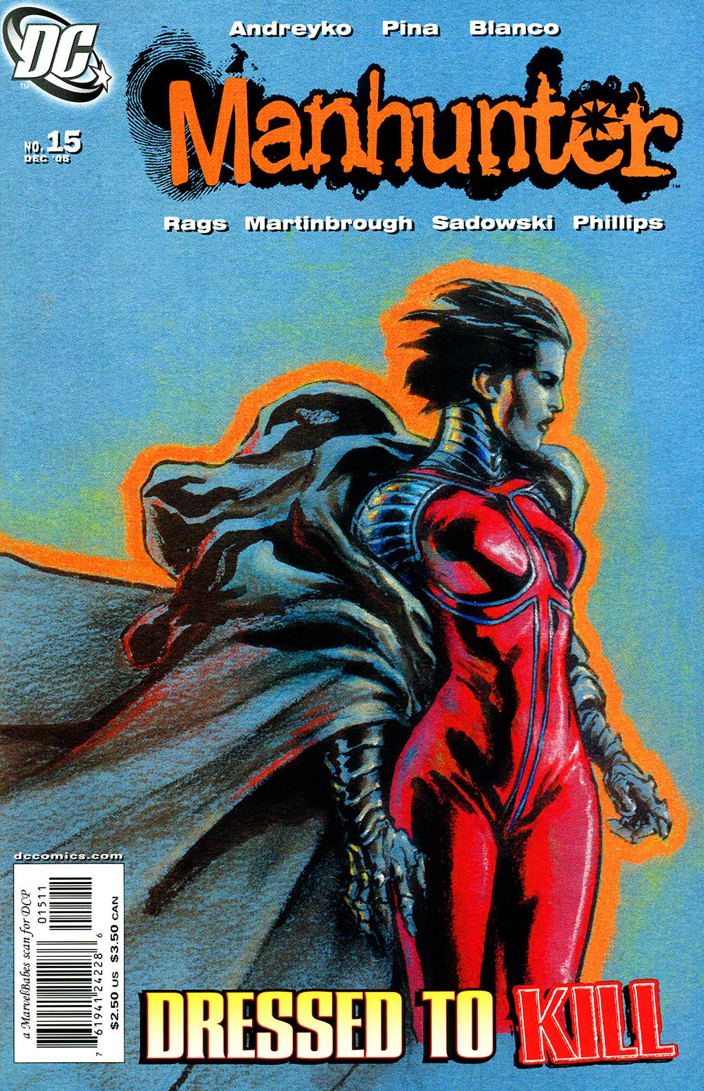 Manhunter (2004) issue 15 - Page 1