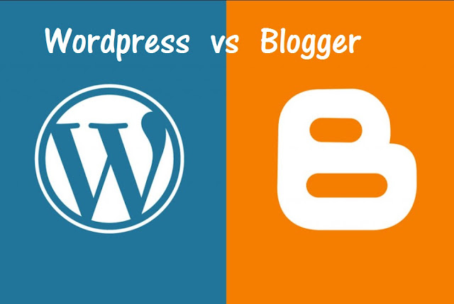 Why choose wordpress or blogger ?
