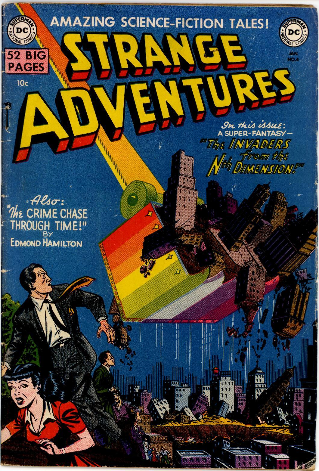 Strange Adventures (1950) 4 Page 1