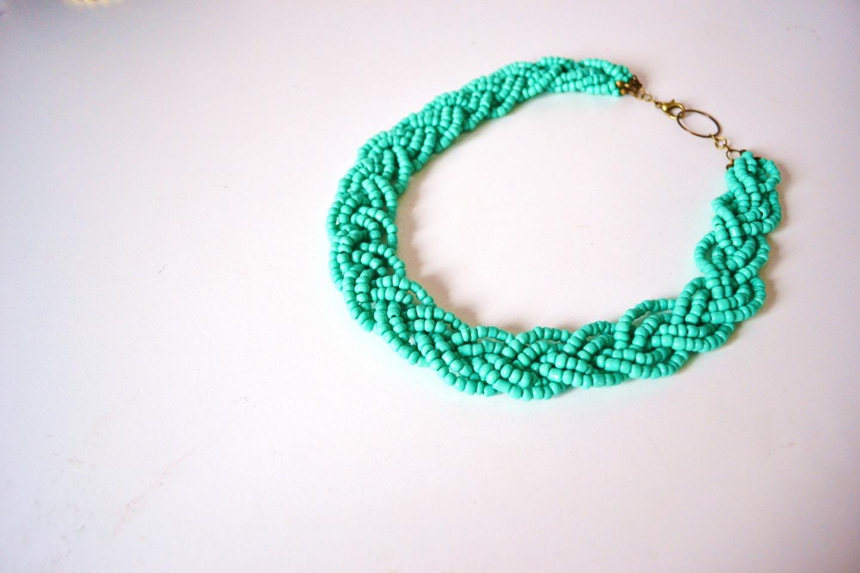 perle de rocaille collier