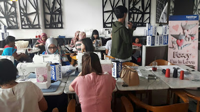 Workshop Mesin Jahit Brother