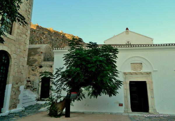 Igreja bizantina em Monemvasia, Grécia
