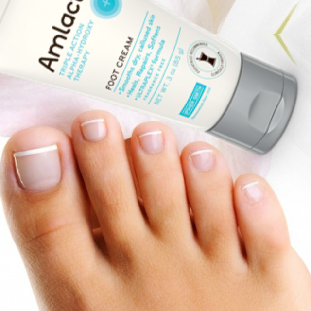 Skincare for your feet with AmLactin® Foot Cream by Barbies Beauty Bits