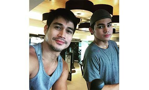 16 Photos of Hunky Pinoy Celeb Dads With Their Sons That Will Make Your Day! #4 Is So Cute!