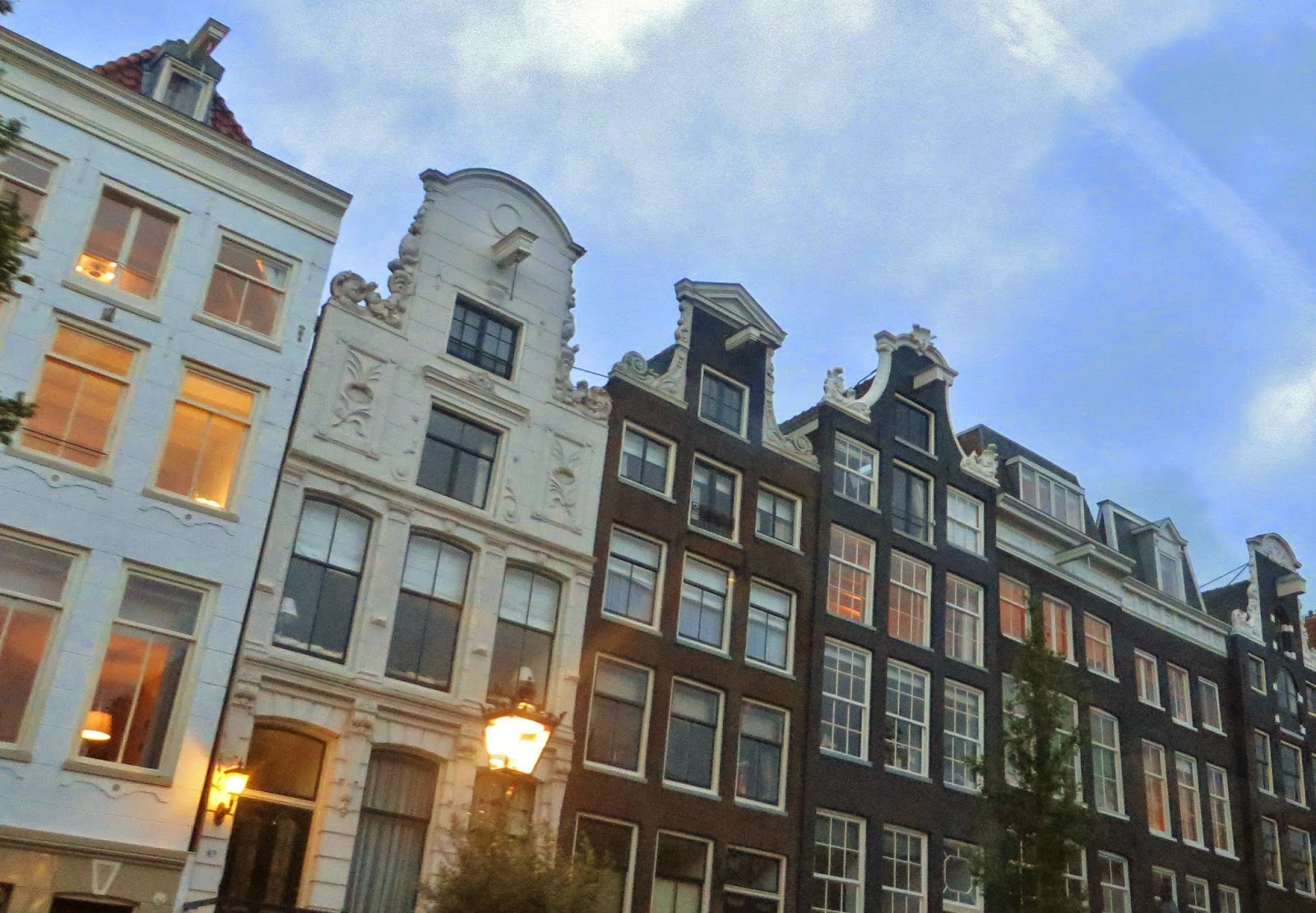 Amsterdam buildings gabbles