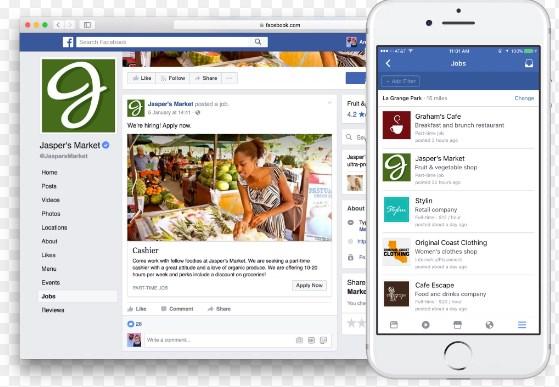 facebook mobile page link
