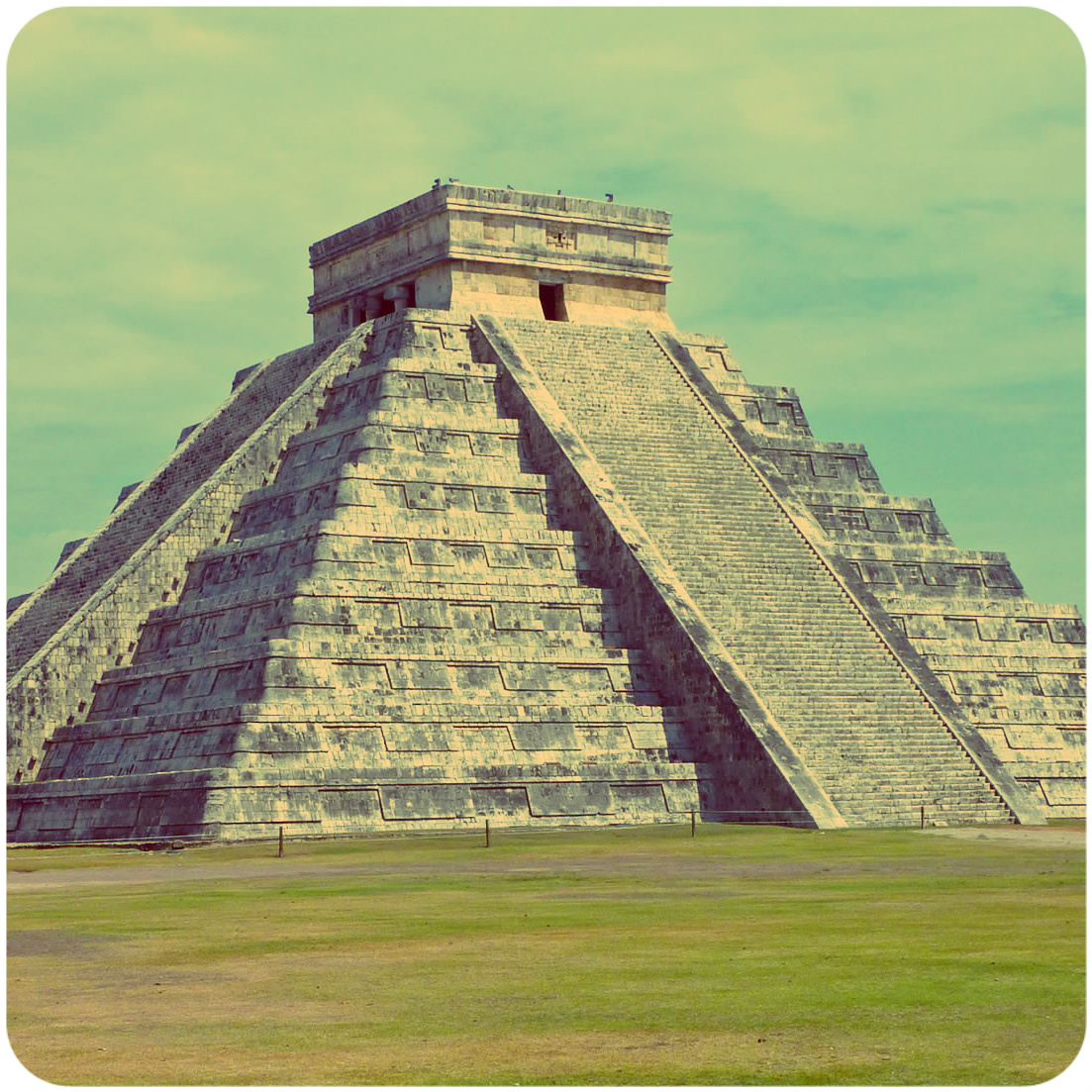 Real life examples of square pyramid