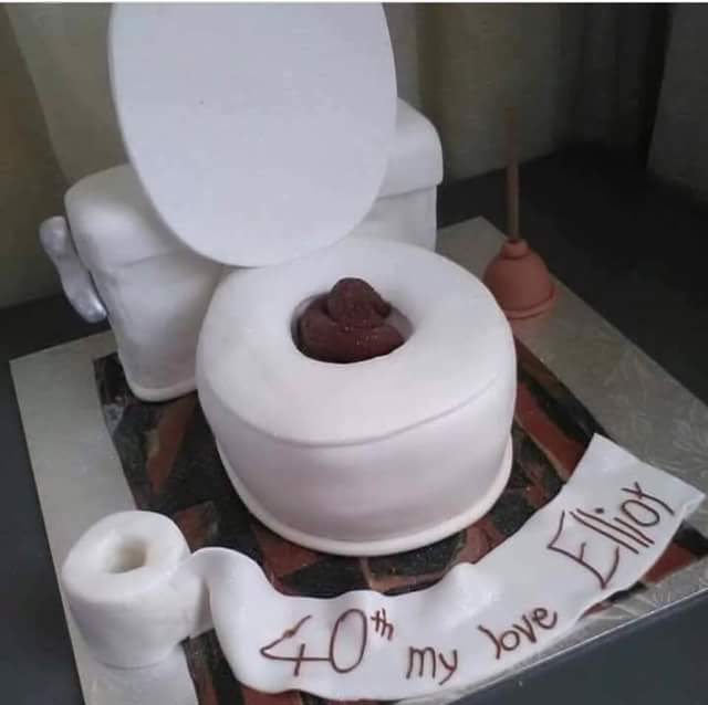 See the birthday cake that got people talking today