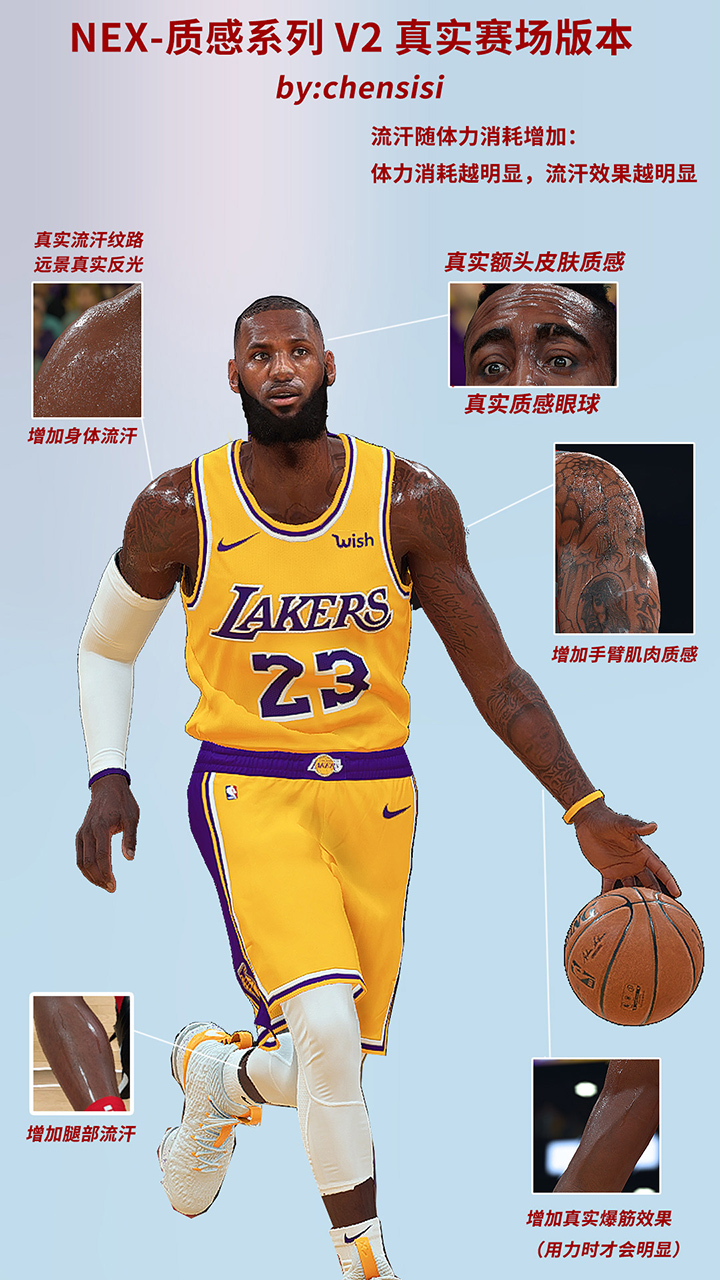 online store a4e14 c89f1 NBA 2K19 Ultra Realistic Global Chensisi v2.5 RELEASED ...