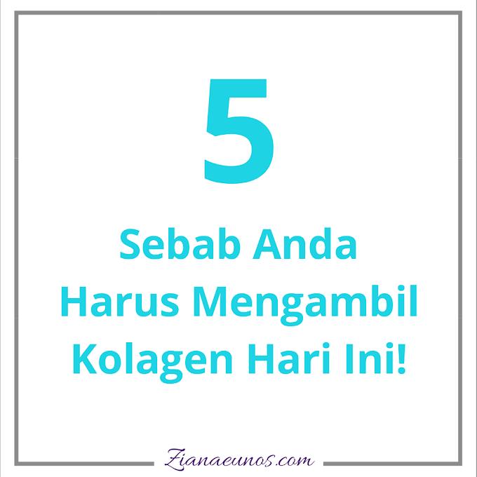 5 Sebab Kita Perlu Kolagen Setiap Hari