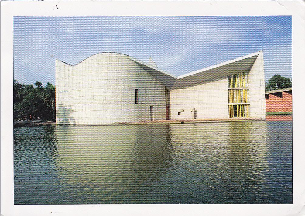 Carte Inde Chandigarh.Postcard A La Carte 2 India Chandigarh Punjab University