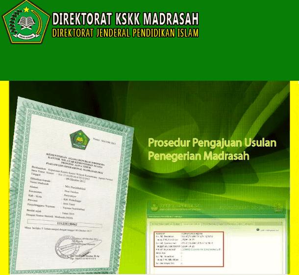 Prosedur Pengajuan Usulan Penegerian Madrasah
