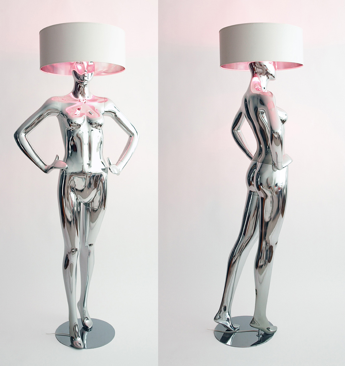 Lightbodies By Kilu Limited Edition Lamps With Male And