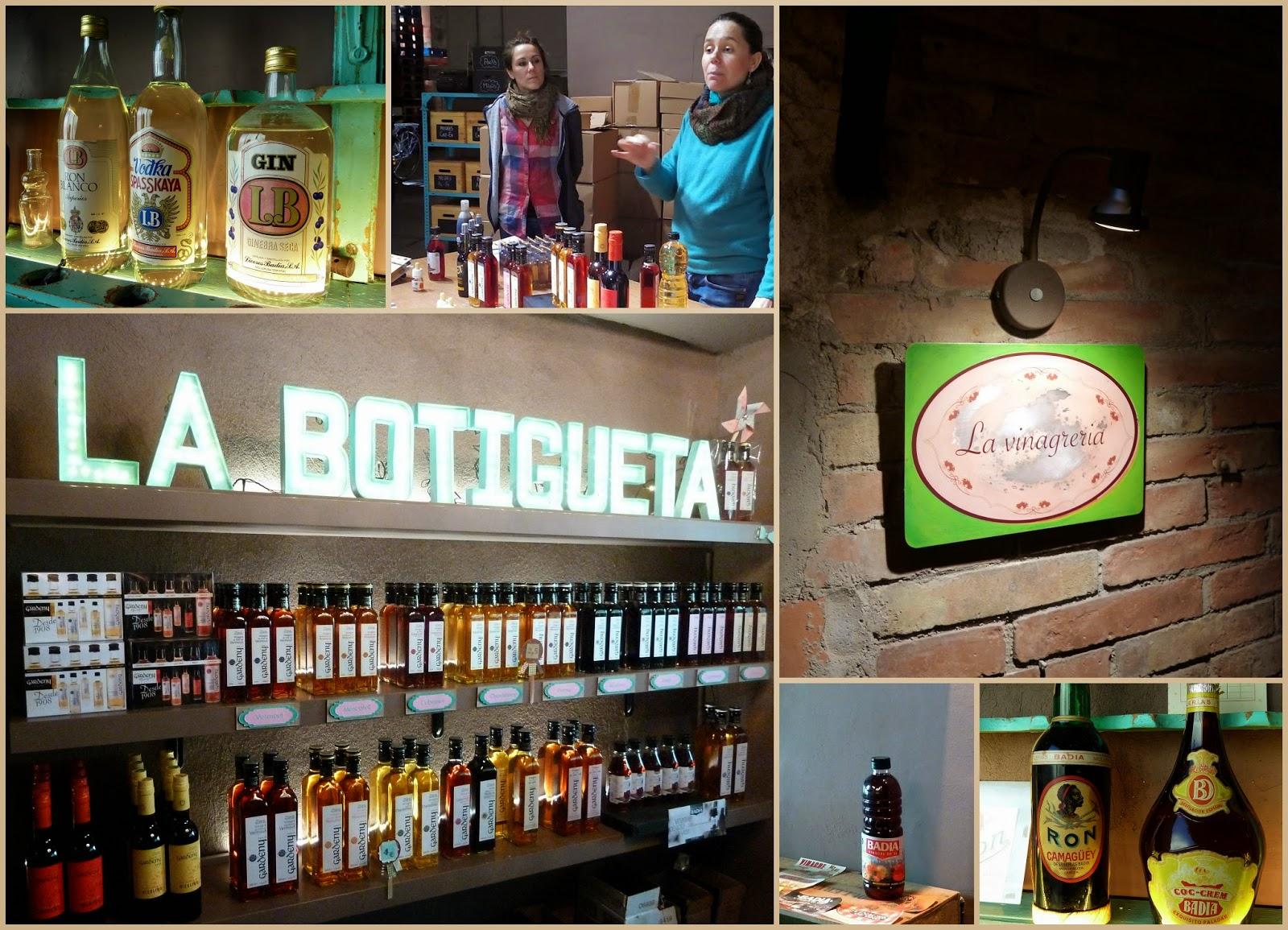Visita a Vinagres Badia i Castell de Gardeny