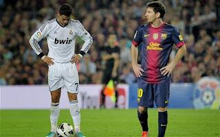 Cristiano Ronaldo y Lionel Messi, los mejores futbolistas activos que actualmente existen. Las mas grandes rivalidades deportivas del mundo