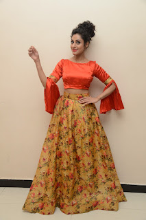 Actress Iraa Stills IN Floral Skirt at Vaadu Veedu O Kalpana Audio Launch  0033.jpg