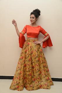 Actress Iraa Stills IN Floral Skirt at Vaadu Veedu O Kalpana Audio Launch  0033.jpg