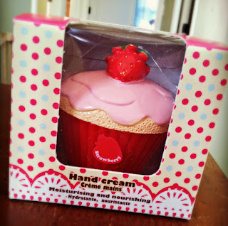 strawberry cupcake body lotion