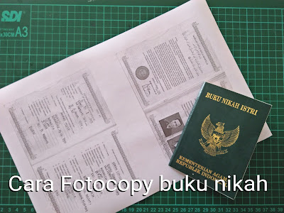 Cara Fotocopy buku nikah atas bawah dengan kyocera m2540/m2045