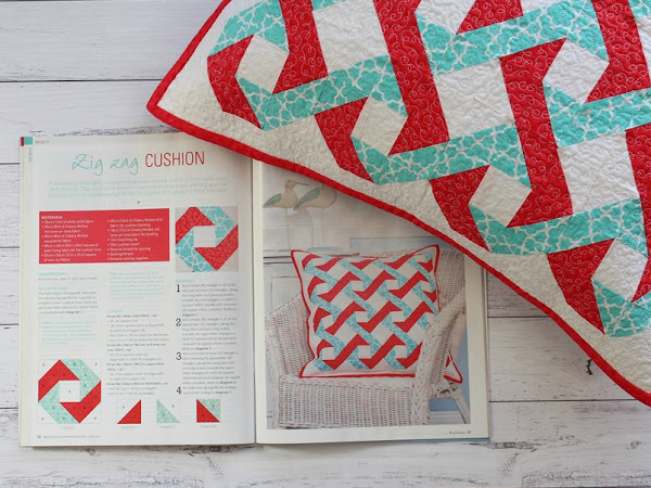 Zig Zag Cushion- Magazine Project