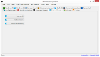 Ultimate Settings Panel - Version 3.0 Released 11