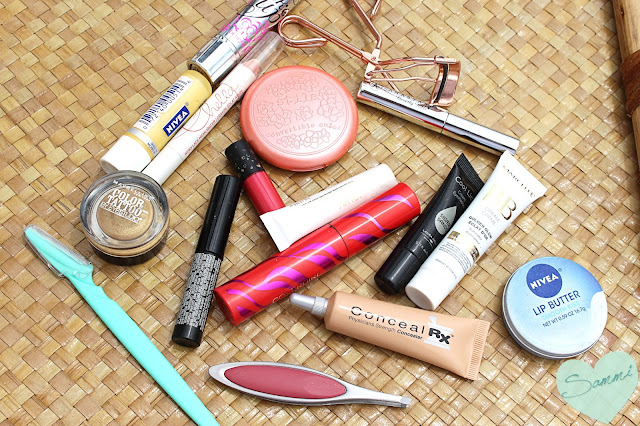 My New Year Beauty Resolutions for 2016 - What I Packed for Connecticut: Makeup