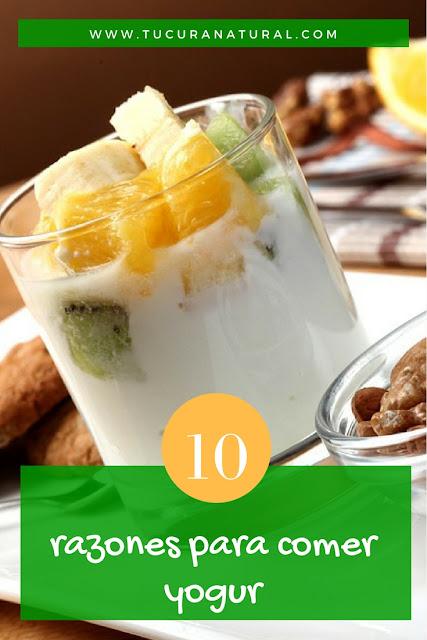 10 razones para comer yogur