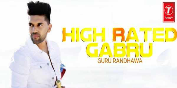 High Rated Song Lyrics - Guru Randhawa