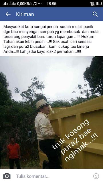 Wow,,, Terkait Sampah dan Banjir, AJB Dibully Netizen di Medsos