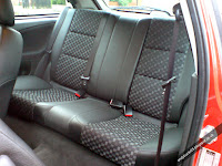 MG ZR Rover 25 Half Leather Matrix Rear Seats