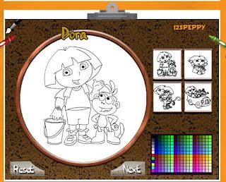 http://www.jogosdecolorir.com.br/dora-145.html