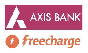 Freecharge – Get 100% Cashback on First Transaction via Axis Bank Cards (New users)