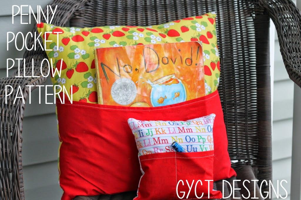 free penny pocket pillow pattern sew