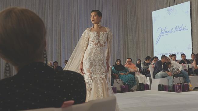 Baju Pengantin Design Meriah Oleh Designer Fatimah Mohsin 1