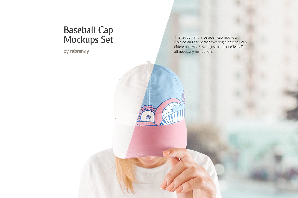 Baseball Cap Mockups Bundle