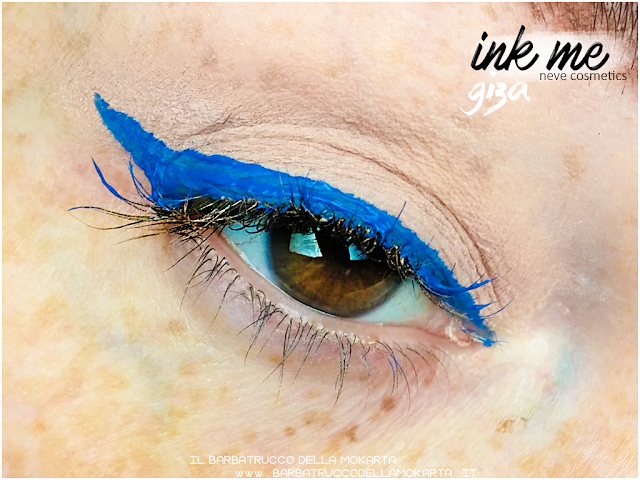 GIZA APPLICAZIONE   INKME EYELINER NEVE COSMETICS REVIEW RECENSIONE