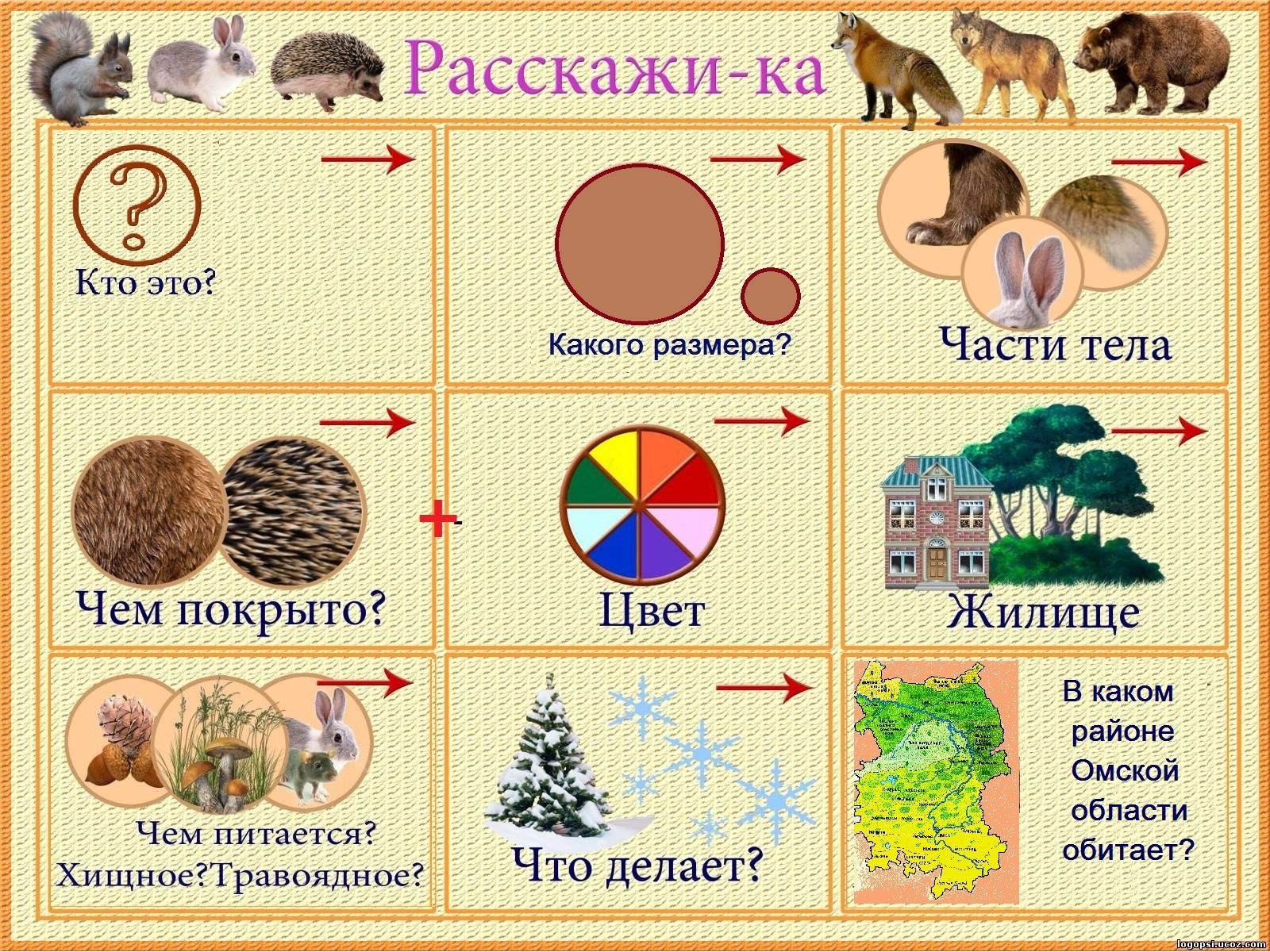 Алгоритм описания картинки