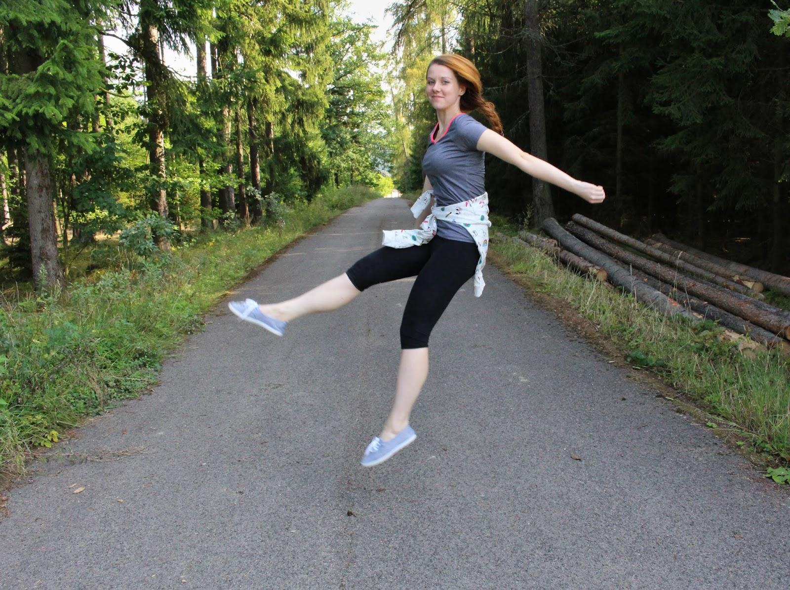 sport, česká blogerka, lucka srbová, sportuj, be active, praha, jump
